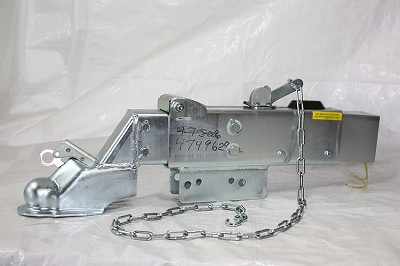 Titan / Dexter Model 10 Disc Brake Actuator with Solenoid and Cover