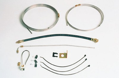 25' Single Axle Brake Line Kit