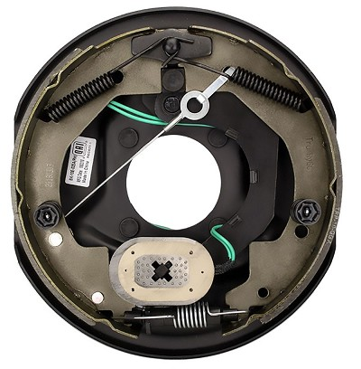 "TruRyde Self-Adjusting 10"" x 2.25"" Electric Brake Kit Right Hand Assembly - 3,500 lb Axle Capacity"