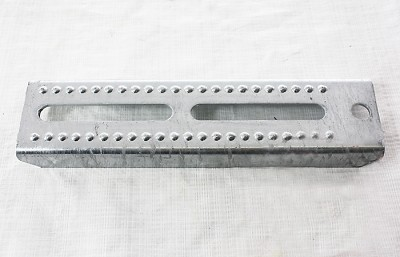 "Tie Down Bracket Bolster 12"" 86132 - 12 in Galvanized Adjustable Bunk Bolster Bracket"