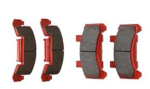 KODIAK 10 in - 12 in Disc Brake Caliper Pads Ceramic DBC-225-CRM-PAD