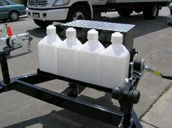 4-Can Gas Can Rack