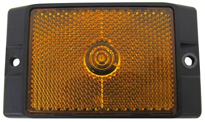 Peterson Mfg LED Clearance/Side Marker Light w/Reflex - Amber #M215A