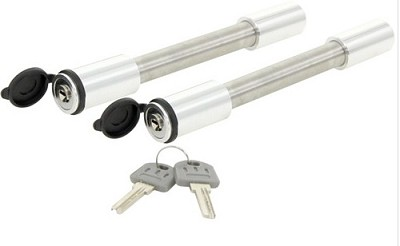 3492 Rapid Hitch Keyed-alike Locking Pin Set for Adjustable Rapid Hitch fits all receivers