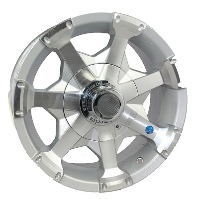15 x 6 Hi-Spec Series06 Aluminum Trailer Wheel 5 on 4.50, 2150 lb Capacity
