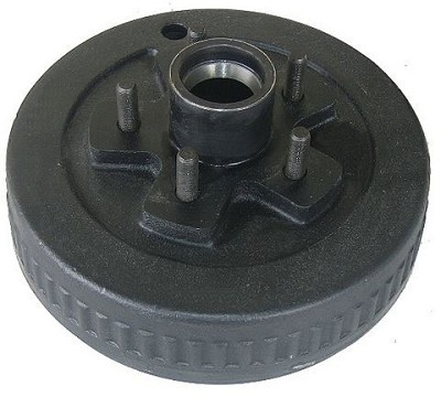 UFP 10 x 2 1/4 in Trailer Brake Hub & Drum 5 x 4.5 Painted 3700 lb by Dexter 34609 / 008-438-08
